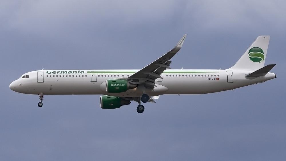 HB-JOI A321 Germania Flug VKO