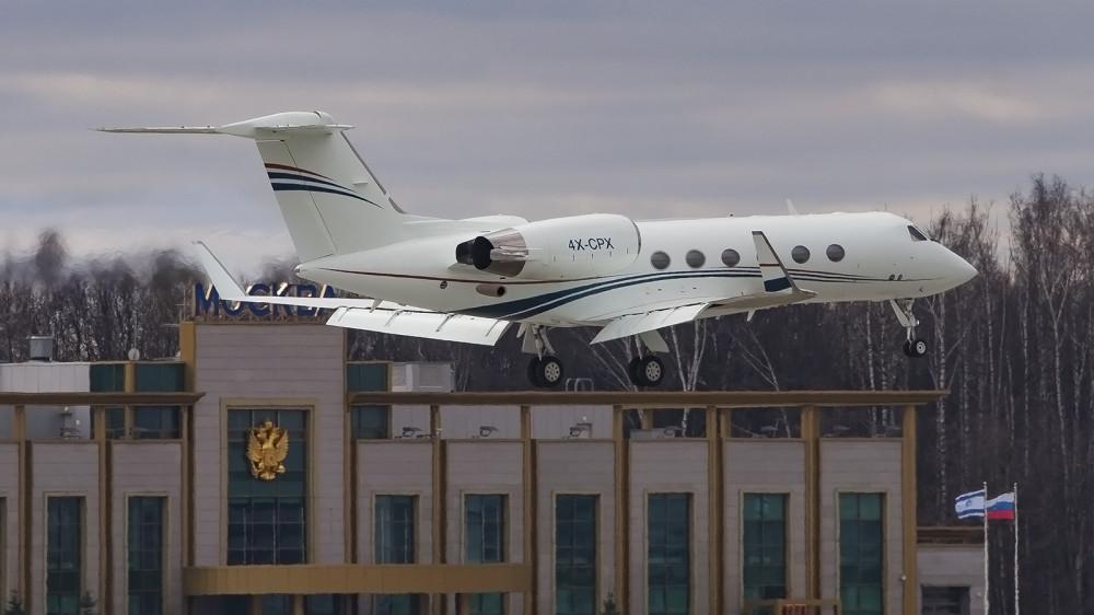 4X-CPX GLF4 Arkia Israeli Airlines VKO
