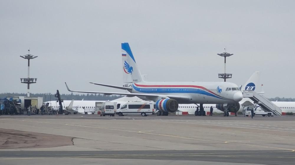 RA-64151 T204(SM) Tupolev Design Bureau VKO