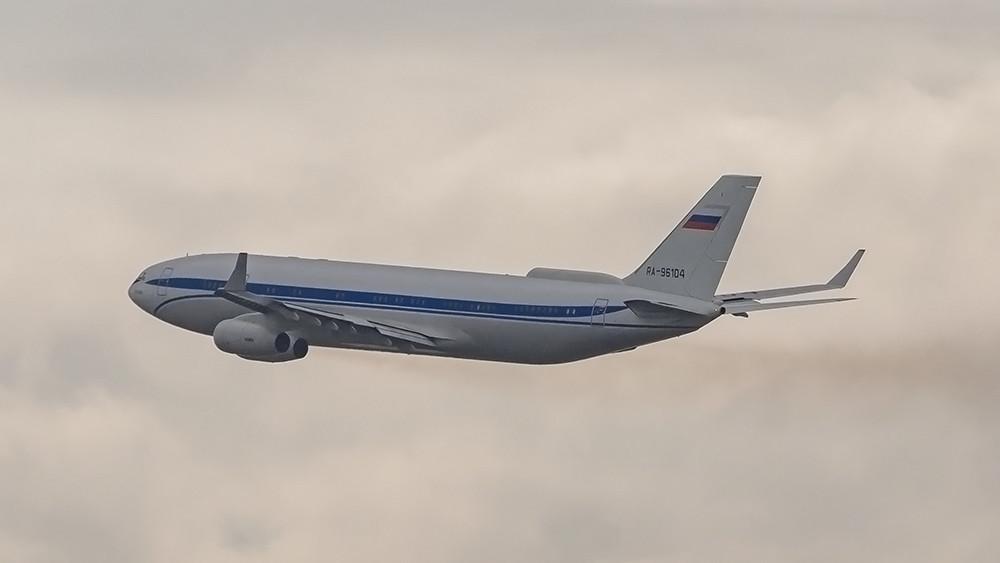RA-96104 IL96(400 VPU) Special Flight Squadron Rossiya VKO