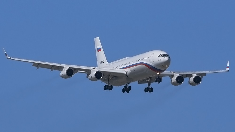 RA-96102 IL96(400VVIP) Russian Air Force CKL 00