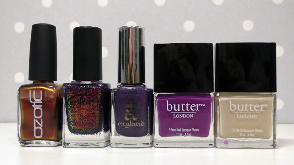 ozotic color club aengland butter london