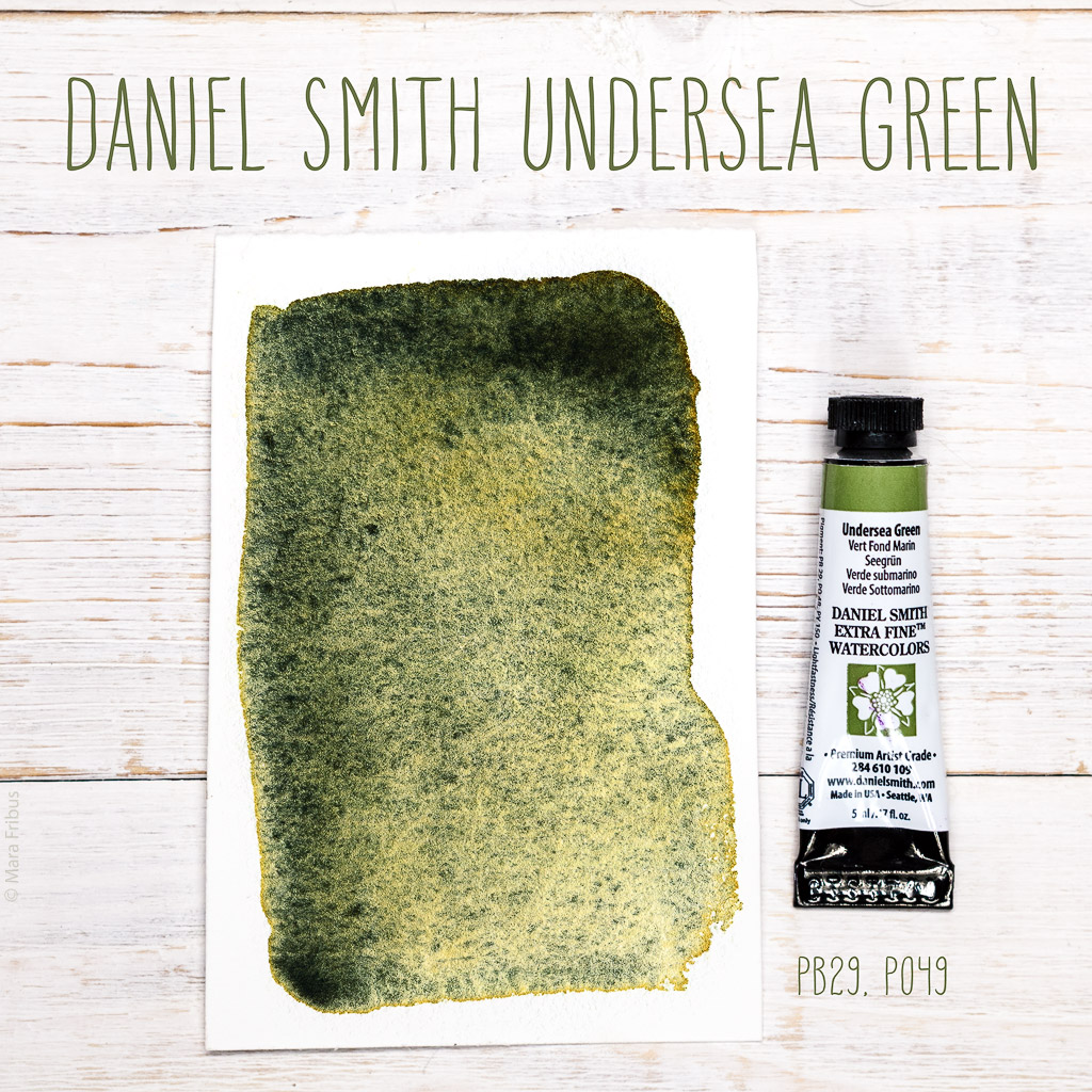 Daniel Smith Undersea Green