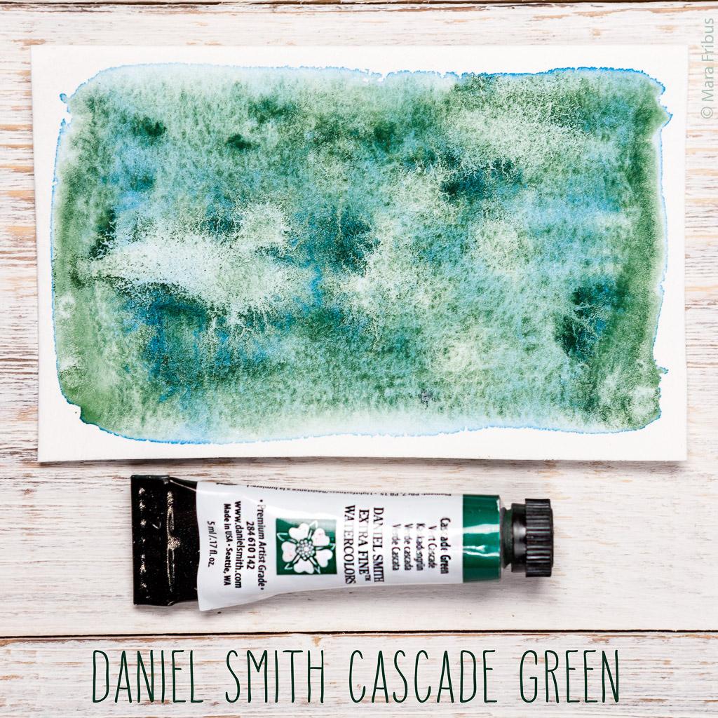daniel smith cascade green