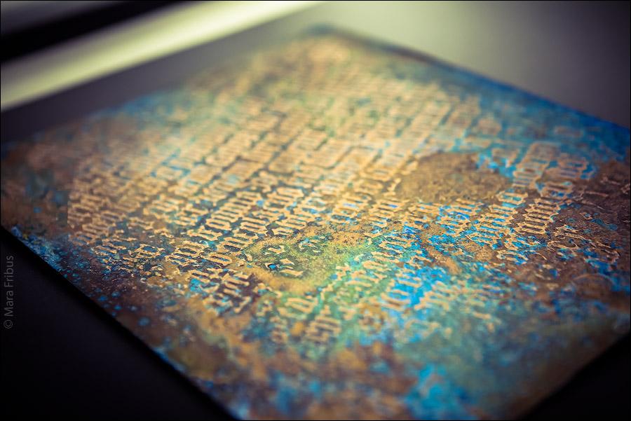 Выставка в музее каллиграфии