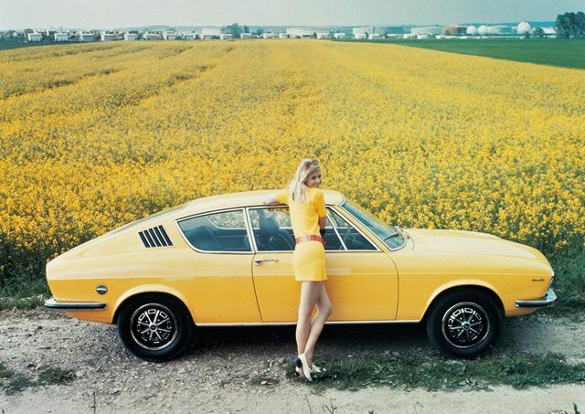 Теплые ламповые девочки из Ингольштадта Audi-100-Coupe-S