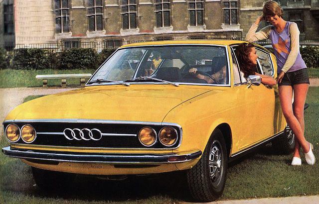 Теплые ламповые девочки из Ингольштадта Audi-100-Coupe-S-2