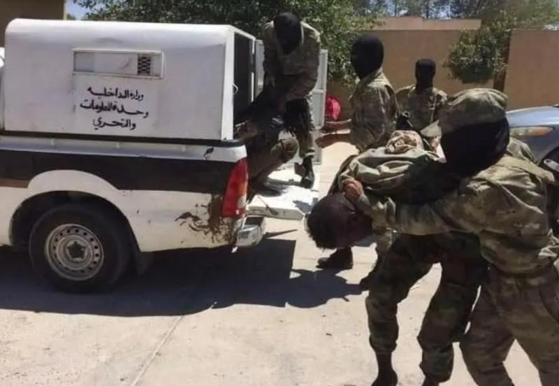 Арест чадских наёмников