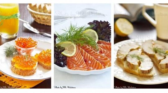 Идеи подачи новогодних блюд
