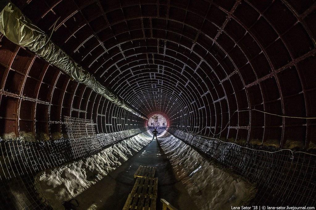 Промпоезд. Подземная Москва. Бункер 703