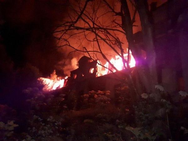 Пожар в псковской усадьбе Волышово: несчастный случай или злодеяние вандалов?