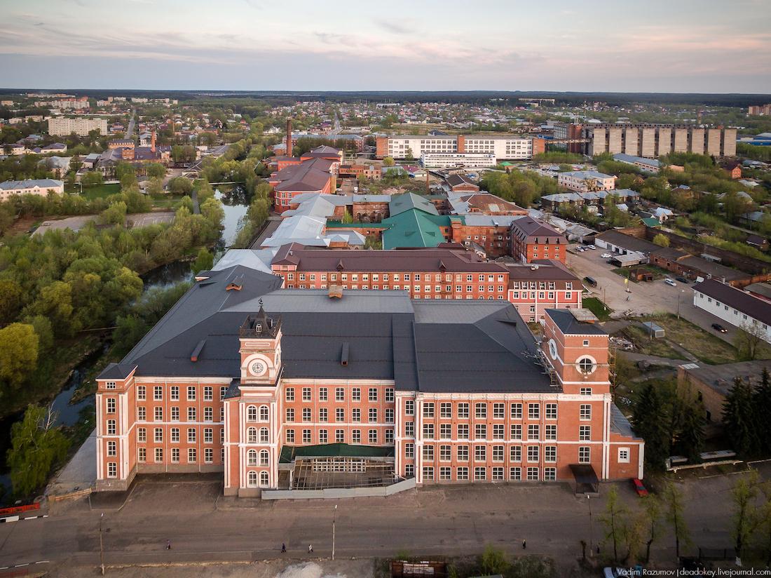 25 августа - Промпоезд. Егорьевск и шоколадная фабрика.