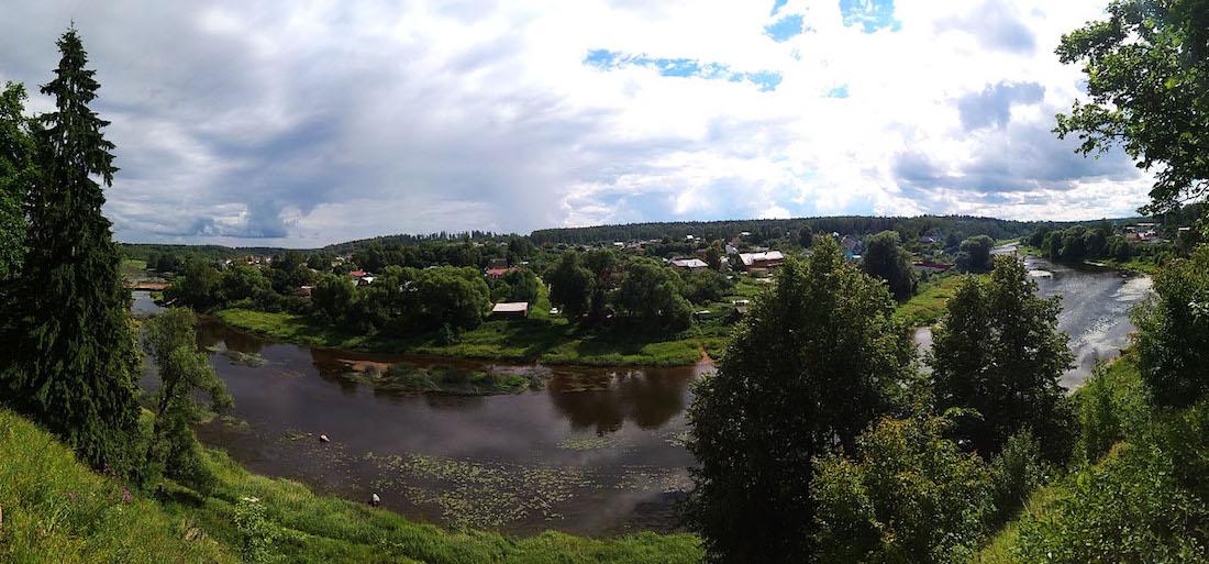 Экоэлектричка. Молочная река Руза