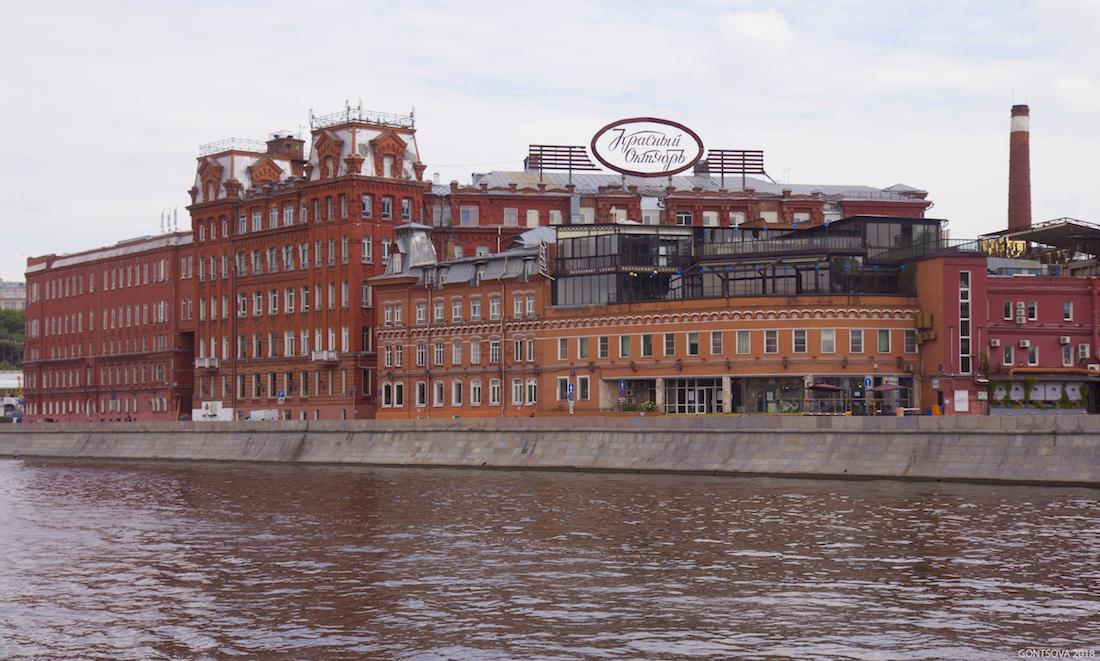 Промпоезд и МосПромАрт. Москва промышленная: взгляд с реки.