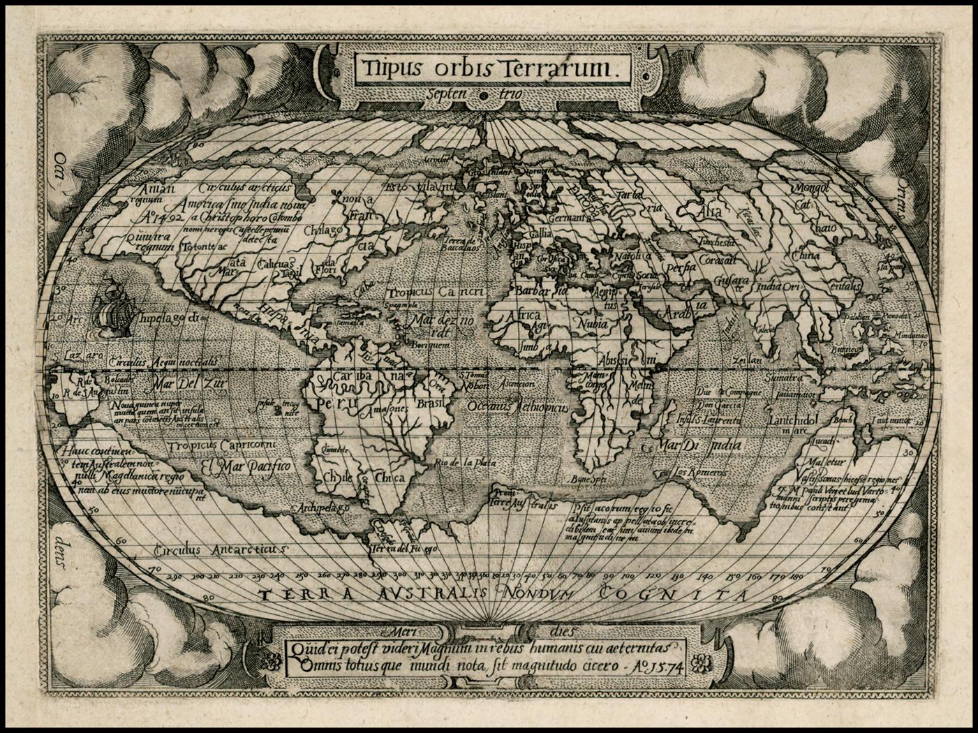 1574Abraham Ortelius - Philippe Galle