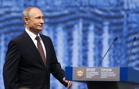 Путин на ПМЭФ 2016