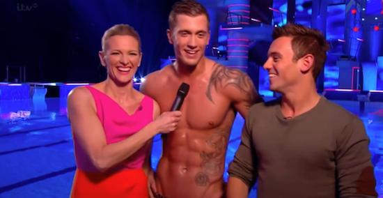 Celebrity diving tv show cast