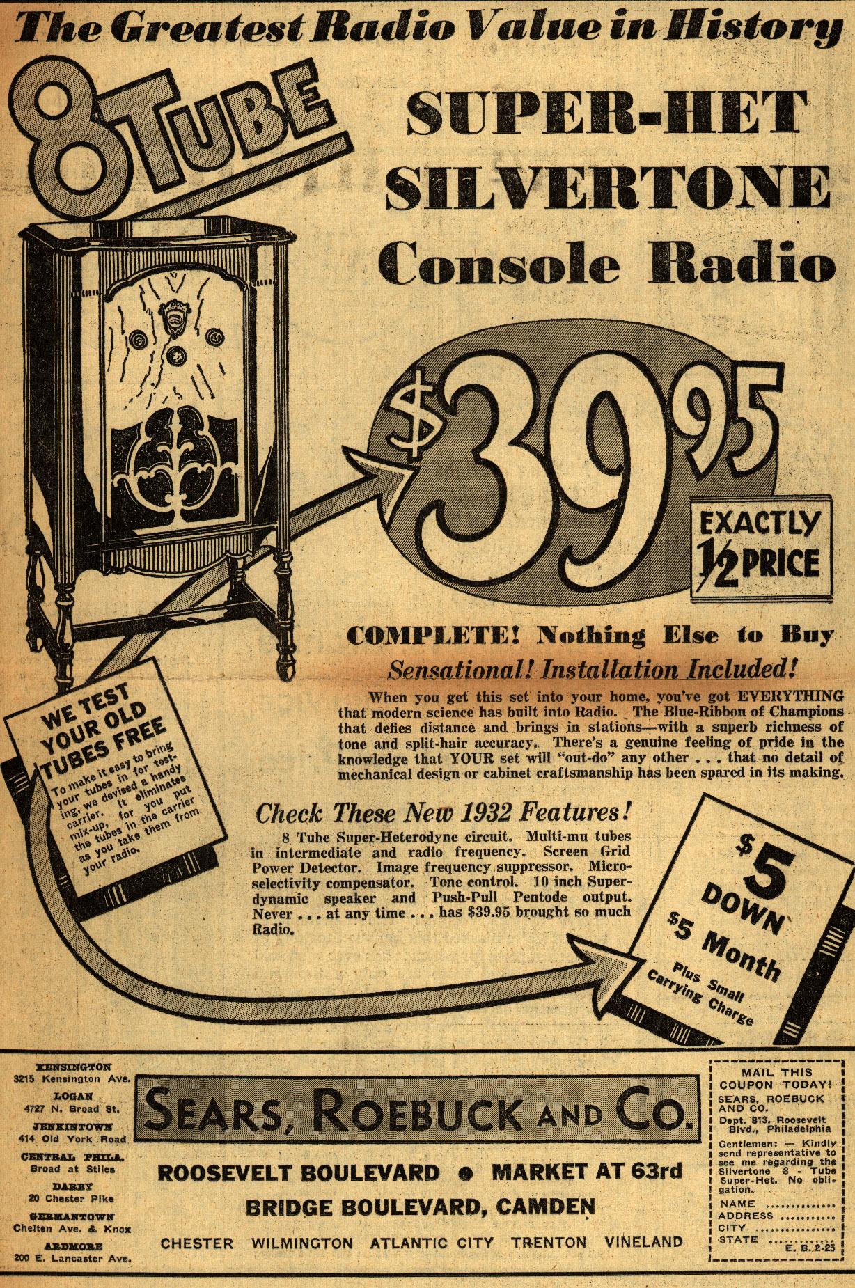 Vintage Radio Ads 25