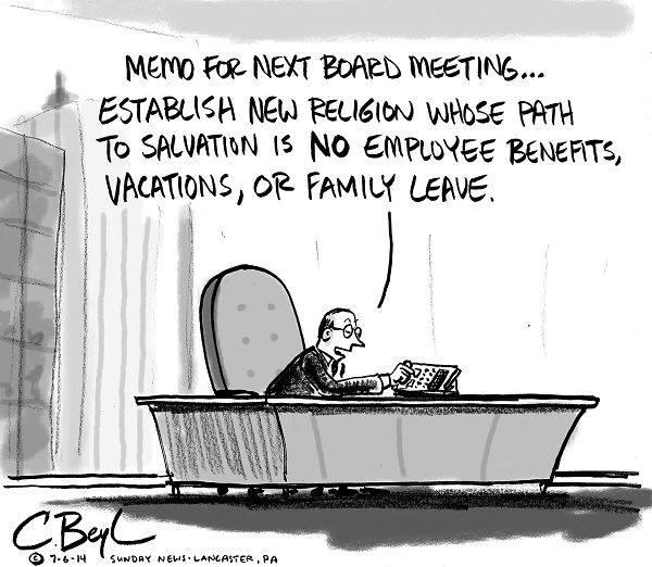 New Corporate Religion