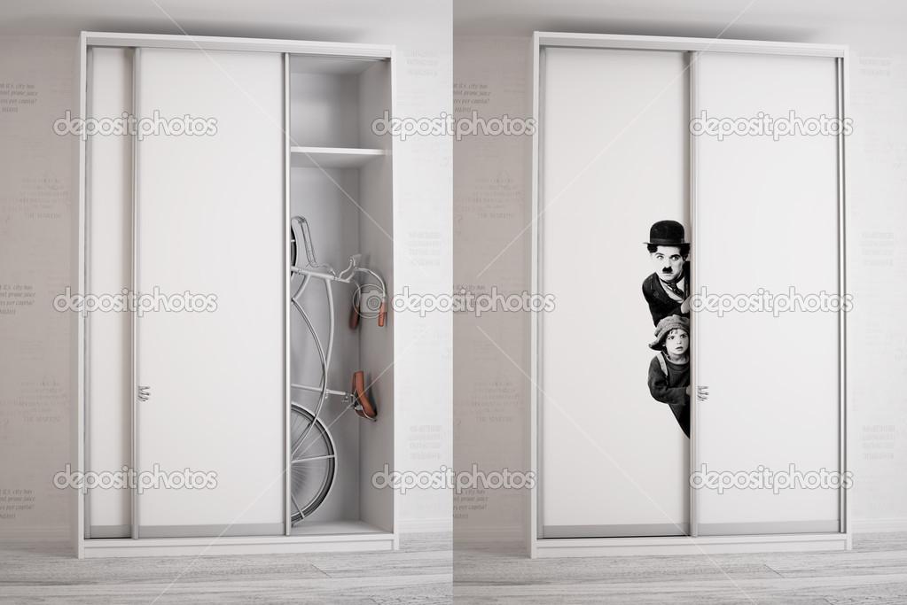 Шкаф для велосипеда