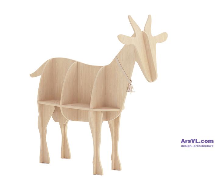 wooden_goat