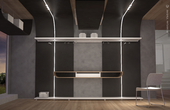 Дизайн мебели В.А. Арсентьев.