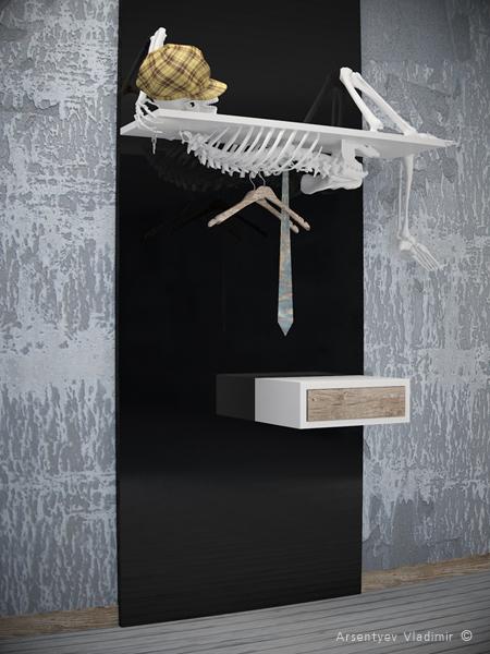 мебель со скелетом