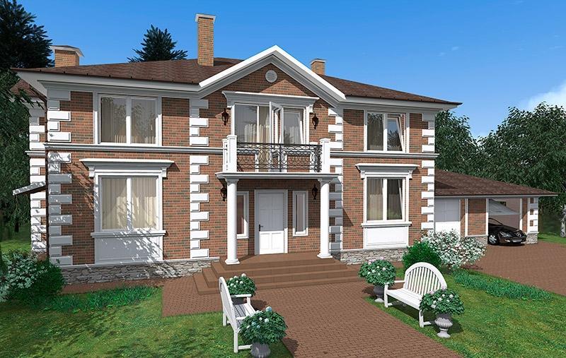 Фасады домов - материалы для отделки и варианты дизайна.