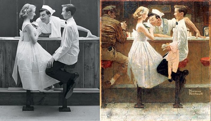norman rockwell essay