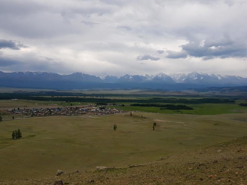 Республика Алтай. Долина Актру и ледники.