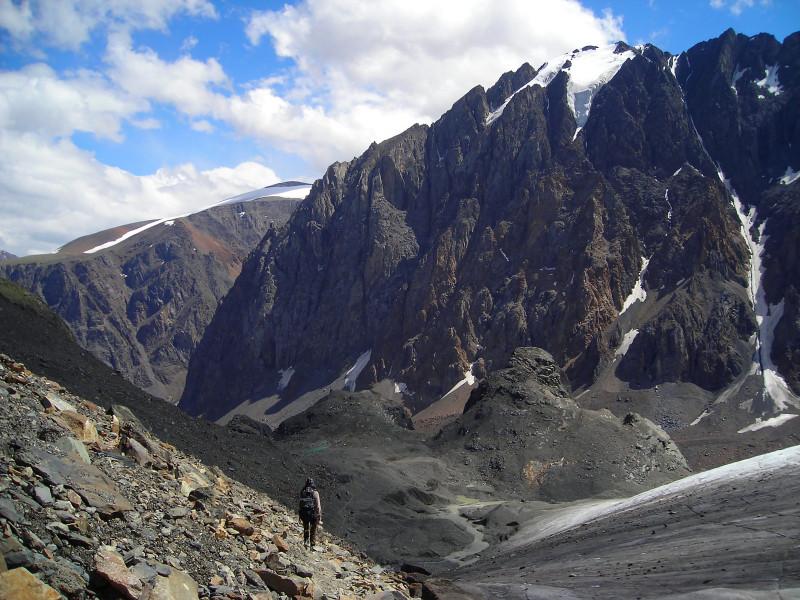 Республика Алтай. Долина Актру и ледники. алтай