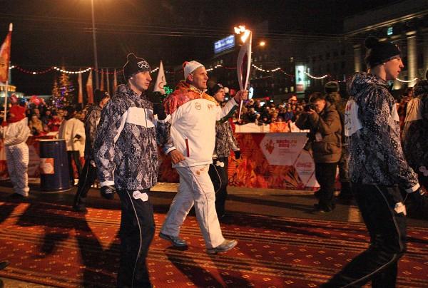 Олиспийский огонь Карелин