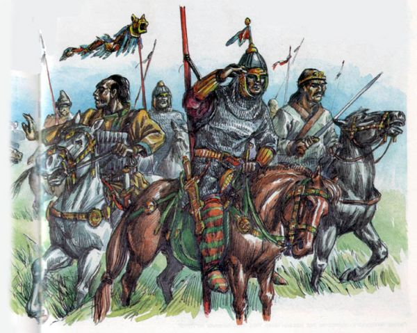Надо заметить, что две тысячи лет назад на огромных пространствах центральной европы - от адриатики до северного и балтийского морей - проживали многочисленные славянские племена: анты и склавины (на юге)