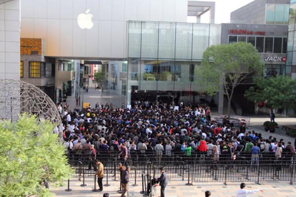 Китайцы iPhone покупали 3
