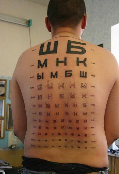ophtalmo test