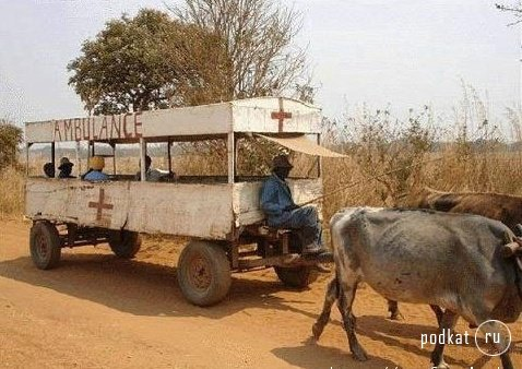 african ambulance