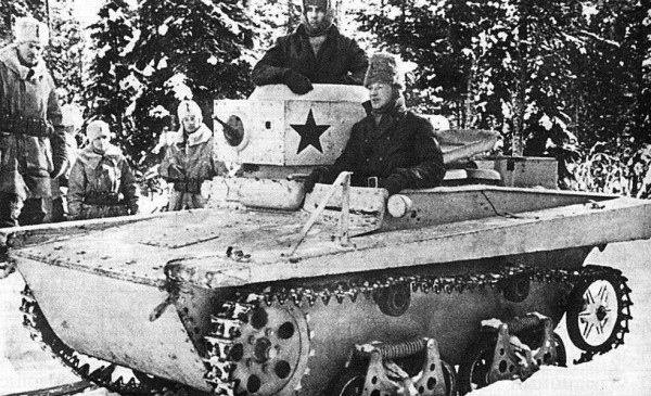 soviet tank finland 1940