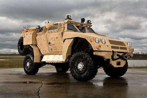 BAE Systems Mine Resistant Ambush Protected All-Terrain Vehicle