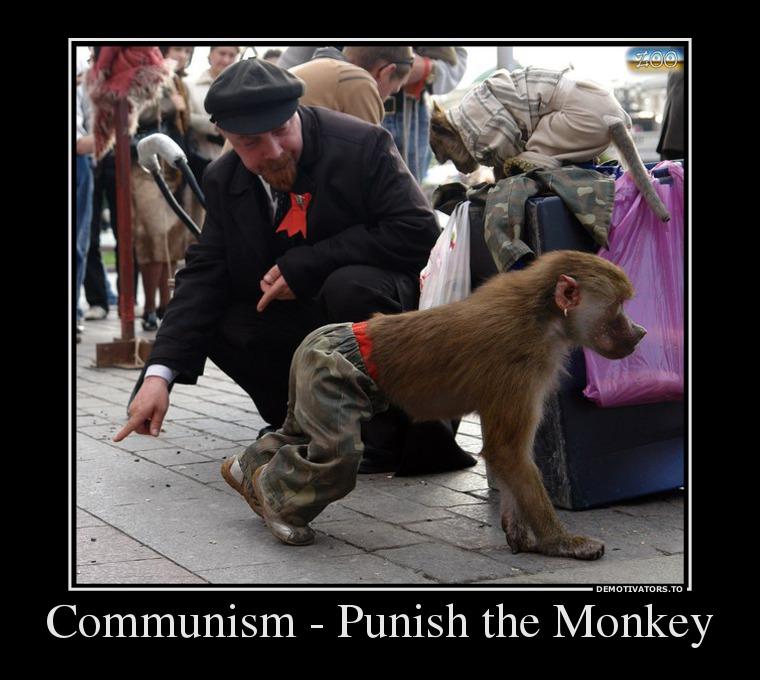 communism-punish-the-monkey