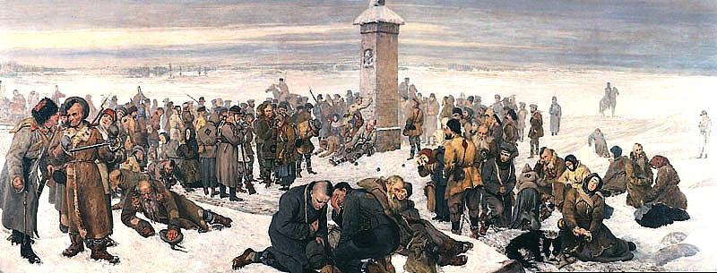 «Прощание с Европой». Худ. Александр Сохачевский (1894)