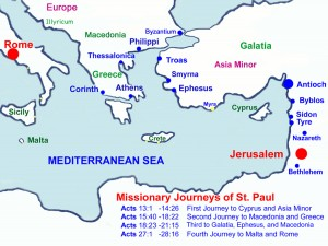 "Paul""s Journeys"