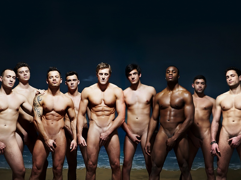 Hunks hot men naked