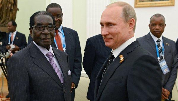 Выборы Мугабе
