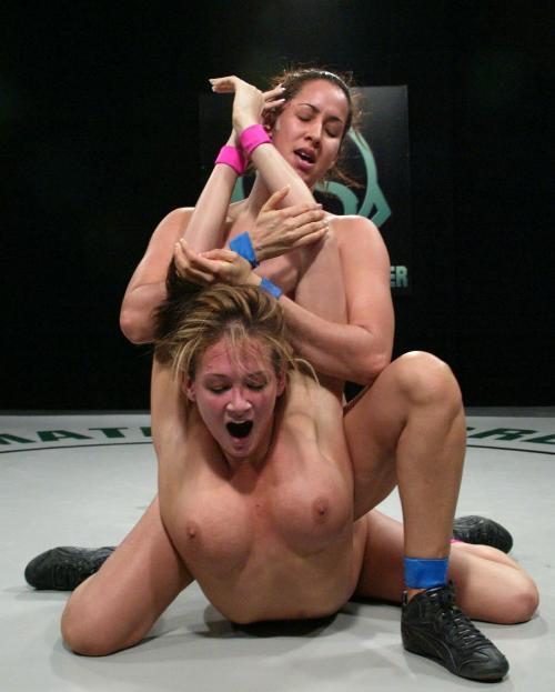 Женские профессиональные порно бои