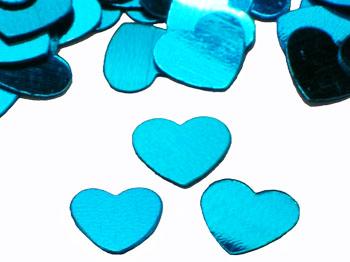 Голубые сердечки выглядели примерно так