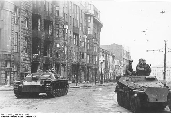 октябрь 1941 оккупированный харьков