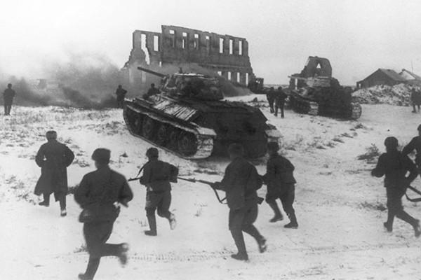 наступление сталинград