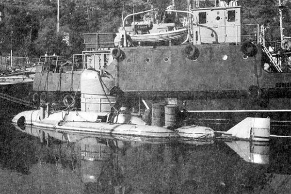 аппарат ас-10 проекта 1839 на отстое в южной бухте г. Севастополь фото лубянов а н