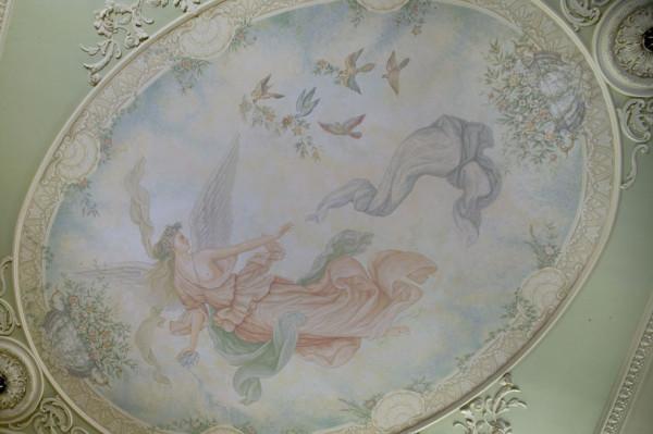 фреска гостиной