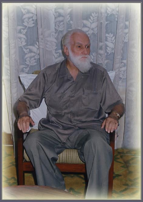 одна из последних фотографий Святослава Рериха, ушедшего из жизни 30 января 1993 года в Бангалоре (Южная Индия).